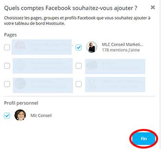 Piloter ses profils sociaux à partir de l'interface Hootsuite