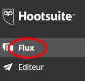 Ajouter un reseau social a partir de la rubrique « Flux »