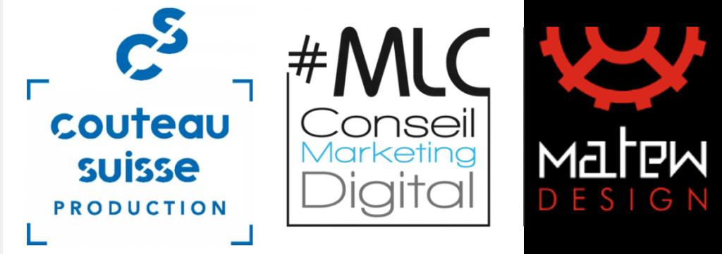 logo MLC Conseil Couteau suisse production et matew design